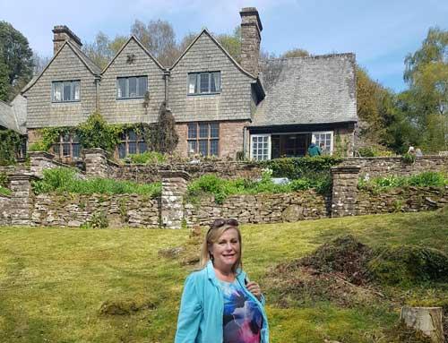 High Glanau Manor, Lydart, Monmouth Gardens open to the public